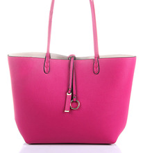 taobao shopping Leather Tote Bag With Pouch