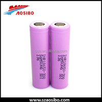 1865 li-ion battery 18650 batteries for electric bikes, samsung 30q 3000mah 15amp