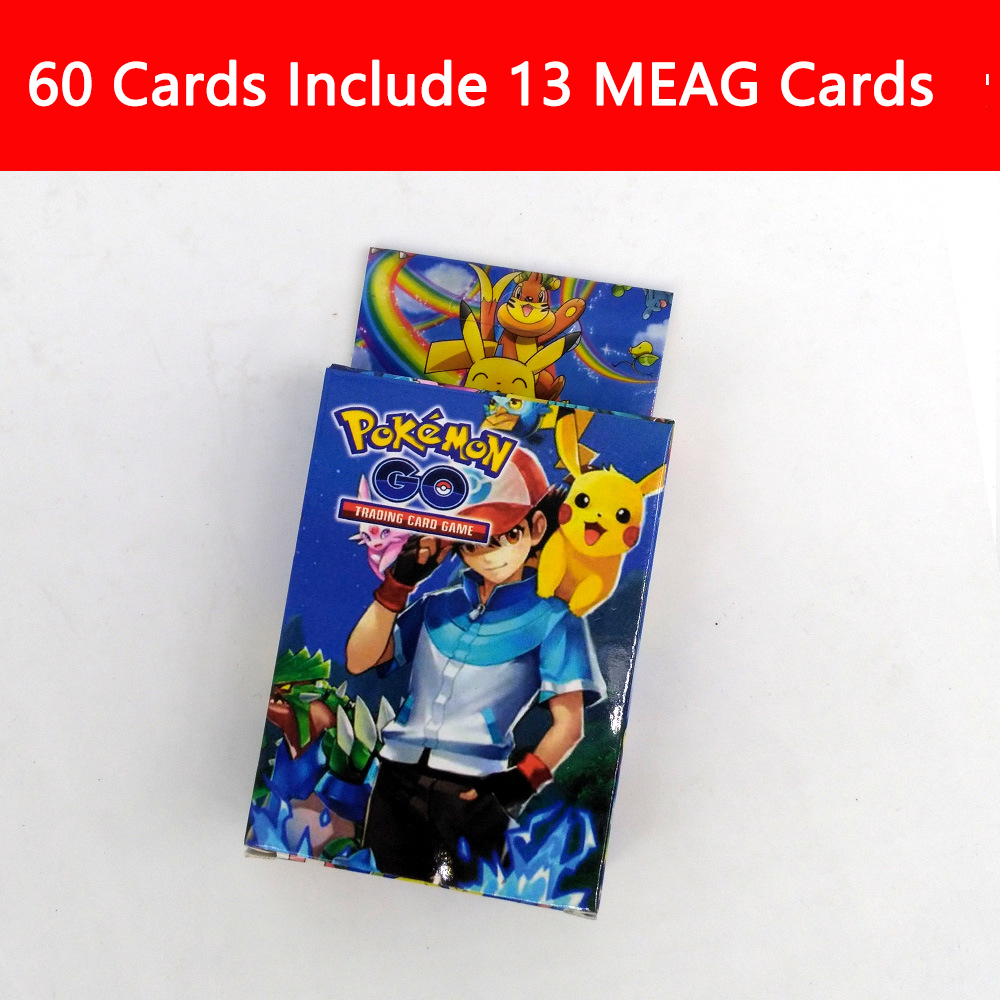 Wholesale 60 GEX Pokemon Trading cards Box
