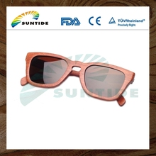 China Supplier High Quality recycled skateboard wood sunglasses