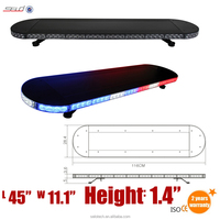 2015 Hot Products New Arrial Emergency Led Lightbar for auto (DH-SFL214)