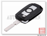 AK006017 Car remote key for BWW EMS 4 Track 3 button remote key 315MHZ with ID44 transponder chip inside