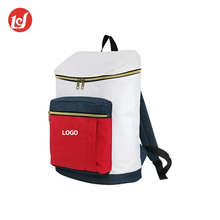 High quality polyester custom leisure backpack practical sports gym bag