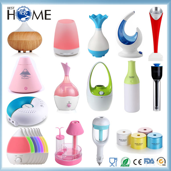 Amazon Color Changing Mini Air Cool Mist USB Humidifier Ultrasonic