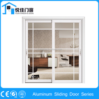 Serviceable sliding aluminum alloy door pantry