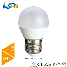 6w led bulb G45 E14 LED Bulb with High quality Epistar 2835 LED