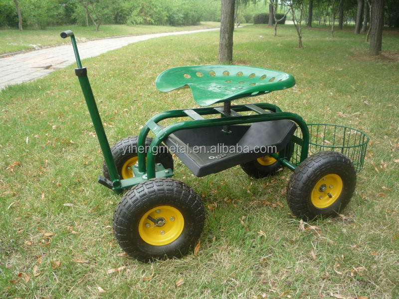 Garden Caddy On Wheels : Garden caddy tractor seat on wheels tc b buy