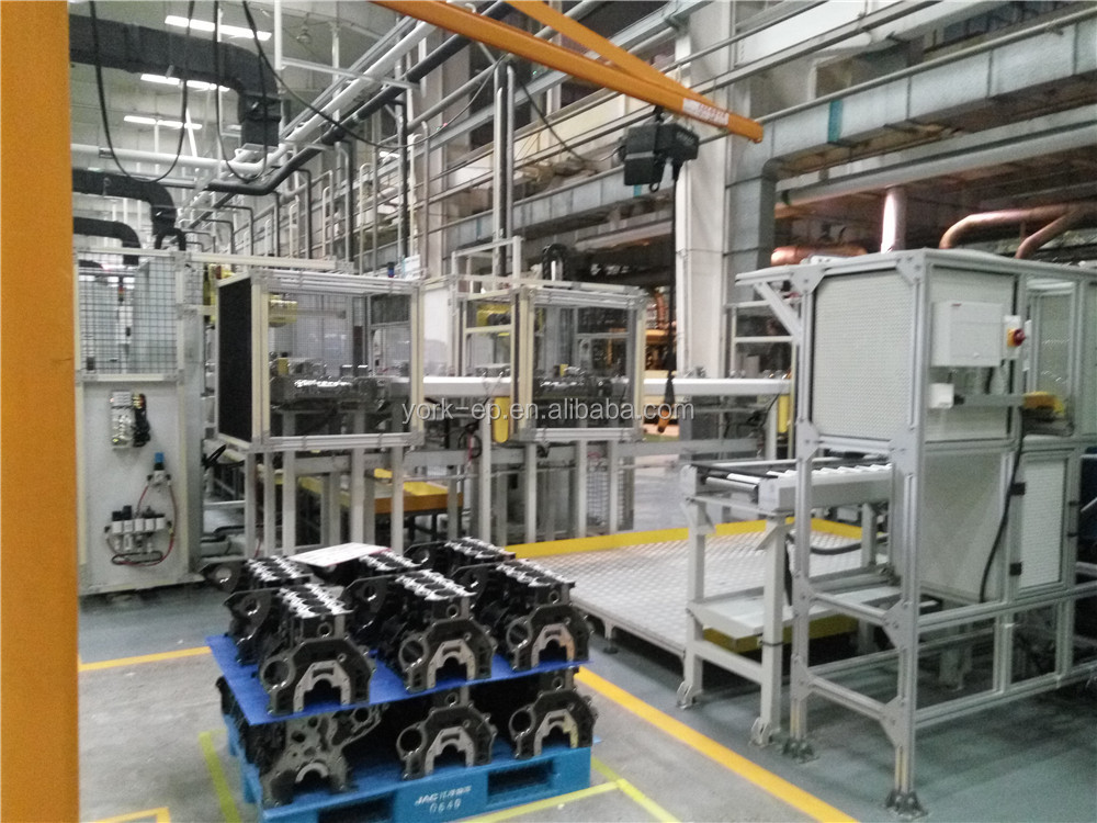 OEM Automatic production line for cleaning and testing engine cylinder