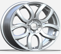 17inch replica alloy wheel fit for BMW MINI 5 hole replica car rims silver new treatment made in china