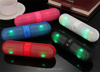 Portable LED Bluetooth Wireless FM Stereo Speaker For Smartphone Laptop Tablet