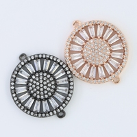 Hot Sale Round Cubic Micro Pave