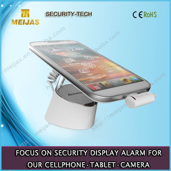 HOT SELL Security anti-theft solution alarm hand phone exhibit holder