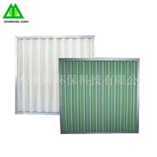 Factory customized G4 pannel type Pre filtration air filter for air conditioning system