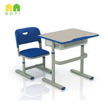 Universal Plastic Classroom Desk School Furniture Chair