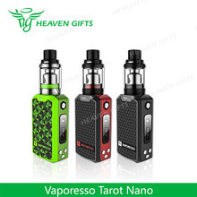 HeavenGifts Supplier 2500mAh 2ml 80W Vaporesso Tarot Nano Kit elektronik cigarette