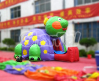 Cheap Tortoise Inflatable Slide/Mini Turtle Inflatable Slide for Toddlers