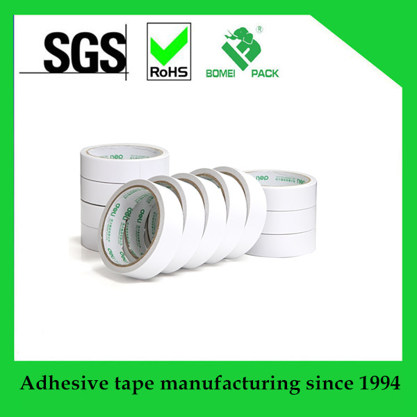 Heat resistant self adhesive Double Sided Tissue Tape for bonding nameplates