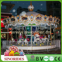 Animal shape carousel for children and kids, amusement rides carousel for children and kids