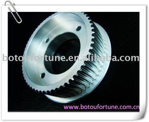 Power transmission Component Aluminum HTD3M timing belt pulley