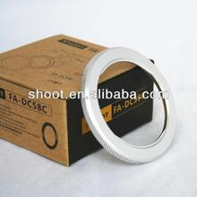 High Quality 58mm Lens Adapter Mount Ring for Canon PowerShot G1X FA-DC58C G1 X
