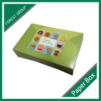 FOOD GRADE PAPER BOARD CUSTOM FOOD PAPER CARTON BOX FOR PACKING CANDY WHOLESALE