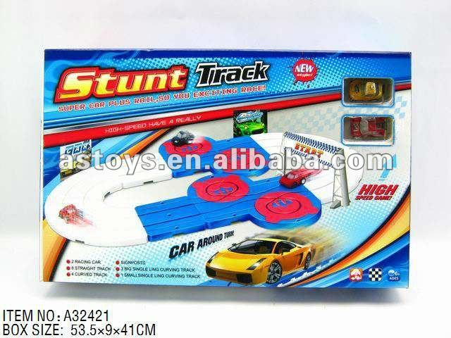 Track Racing Car Kit/ pull back orbit racing car