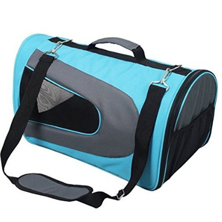 Outdoor/Indoor Travel Oxford Soft Handle Pet Bag for Dogs and Cats Dog Carrier