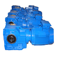 high torque GS Series helical speed reduction gear