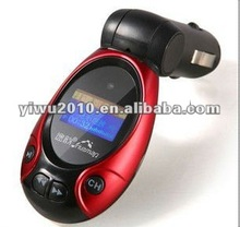 USB/MP3 Wireless In Car FM Transmitter with Remote 4G