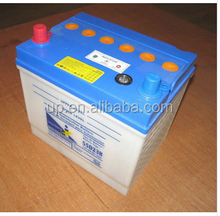 AUTO PARTS DIN12V55Ah DRY CHARGED AUTOMOBILE CAR BATTERY