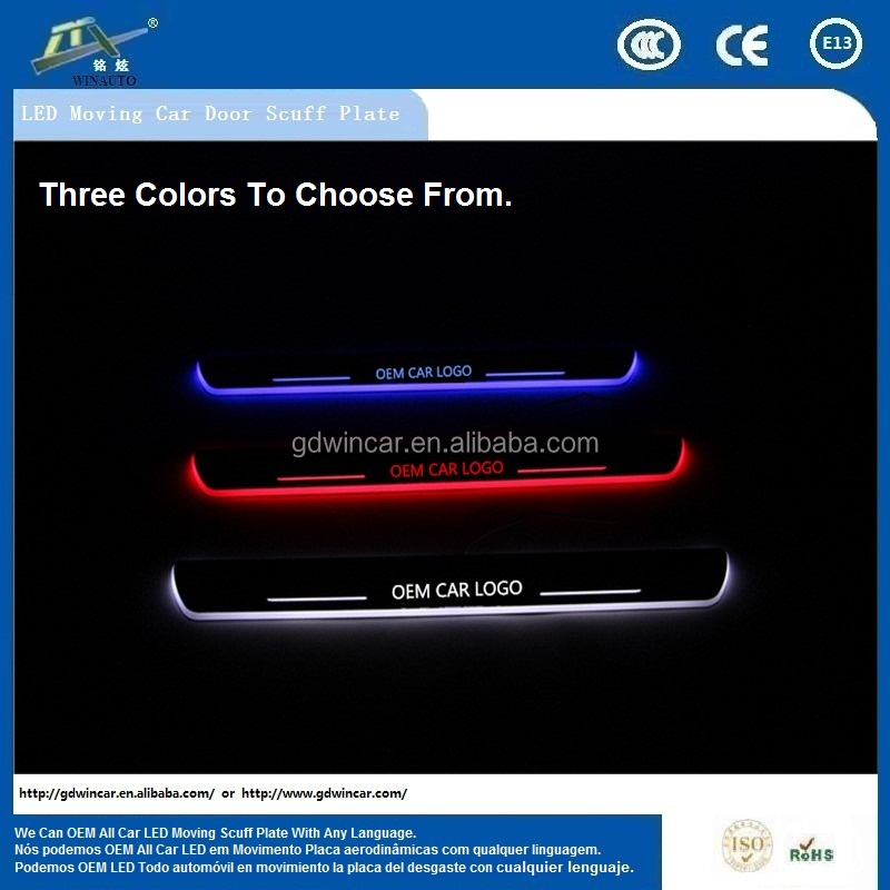 New Factory Wholesale <strong>Price</strong> 13.5V 90-120LM/W Door Sill LED Scuff Plate For Ki a Sportage <strong>R</strong> 2010-2015 Serviceable Car Accessory