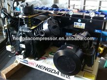Hengda High Piston Portable CE approved BM direct driven piston air Hengda compressor 2hp