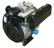 20hp 211cc 4-stroke air cooled direct injection 2 cylinder diesel boat engine