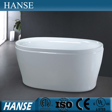HS-B531 low price oval freestand bath 1300mm/ mini tub/ mini bath tub