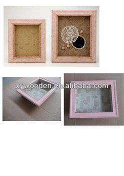 square 3d box photo frame