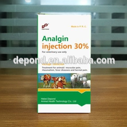 GMP Veterinary 30% solution Analgin Injection