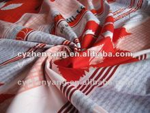 Chinese Flavor Printing Fabric Cotton Bedding Fabric
