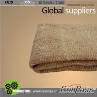 Fire Resistant Insulation Material Vermiculite Coated Vermiculated Ceramic Fiber Cloth