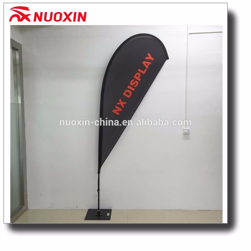 Hot sale custom printed polyester advertising teardrop sign banner
