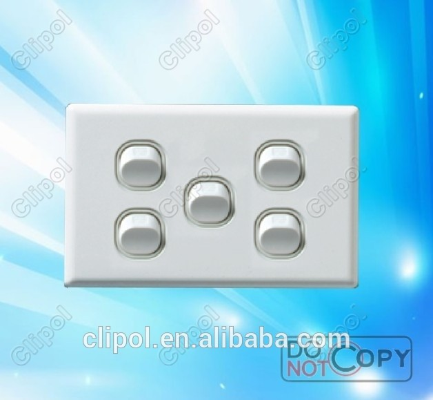 Different kinds of Domestic Wall Switches &Powerpoints