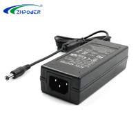 RCM CE RoHS FCC Certified 14v 5a ac dc power 14volt adapter 5amps 70w