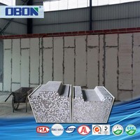 OBON precast concrete wall panel heat resistant fireproof insulation building material