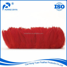 China Horng Shya Factory Exporter High Quality Natural Dyed Washed Feather Chicken Feathers