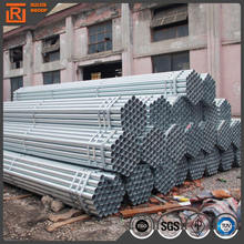3 inch galvanized low carbon steel tube, galvanized steel pipe for irrigation