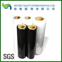 Manual and Automatic LLDPE Stretch Film, stretch wrap film plastic film,