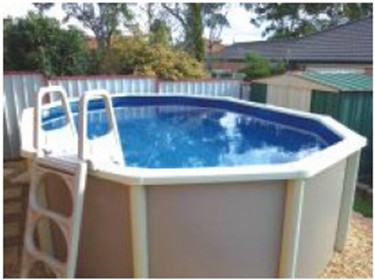 2016 High Quality Swimming Above Ground Pool/ Galvanized Steel Swimming Pool