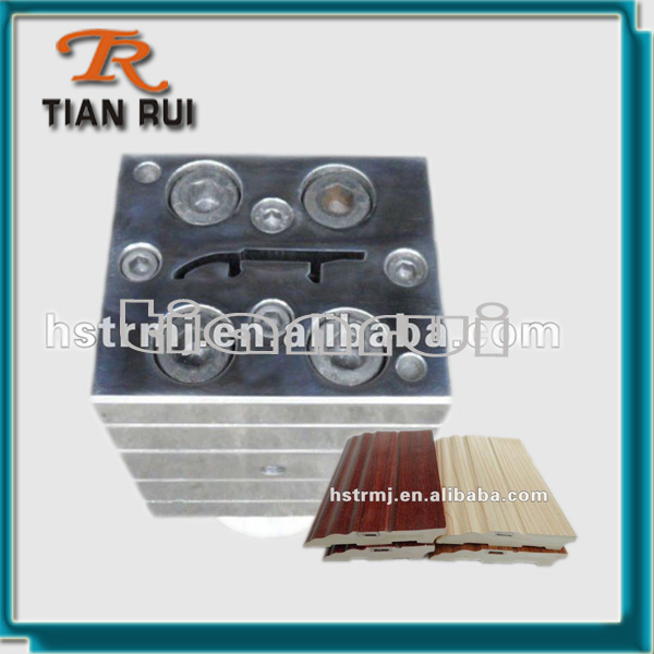 Baseboard Panel Extrusion PVC Plastic Wood Tool