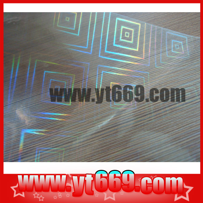 decorative translucent plastic film