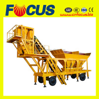 Good Performance Movable Concrete Batching Plant YHZS25