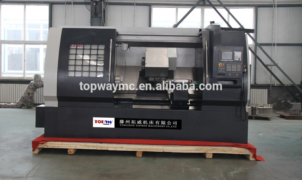 CNC Inclined Bed Linear Guideway Turning Lathe machine TCK4545, TCK4555